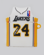 Load image into Gallery viewer, Mamba Lake Show Jersey AirPods Case (White)