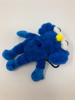 Load image into Gallery viewer, Plush Kaws Inspired AirPods Case (Blue)