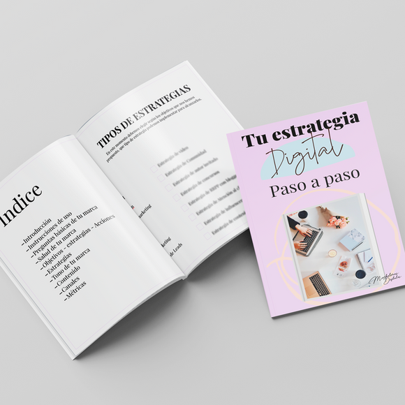 Workbook Estrategia Digital paso a paso