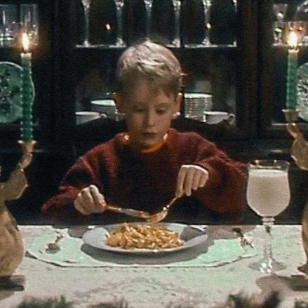 Home Alone mac-n-cheese