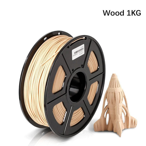 Wood 1.75mm Filament 1kg/2.2lbs Fit Most FDM 3D Printer