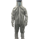 Medical PPE kit (CoverallSuit, Facemask,Hand gloves, Shoeleggings,Hoodcap) - SITRA Certified Coverall
