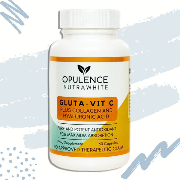 Opulence Nutrawhite Gluta Vit-C Plus Collagen & Hyaluronic Acid