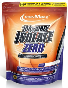 IronMaxx 100% Whey Isolate Zero