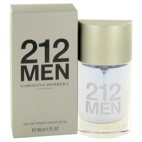 212 by Carolina Herrera Eau De Toilette Spray (New Packaging) 1 oz (Men)