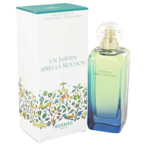 Un Jardin Apres La Mousson by Hermes Eau De Toilette Spray (Unisex) 3.4 oz (Women)