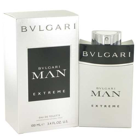 Bvlgari Man Extreme by Bvlgari Eau De Toilette Spray 3.4 oz (Men)
