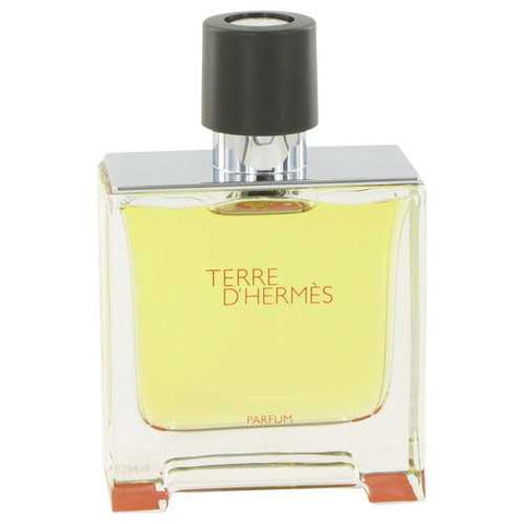 Terre D'Hermes by Hermes Pure Perfume Spray (Tester) 2.5 oz (Men)