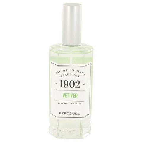1902 Vetiver by Berdoues Eau De Cologne Spray (Unisex) 4.2 oz (Women)