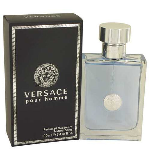 Versace Pour Homme by Versace Deodorant Spray 3.4 oz (Men)