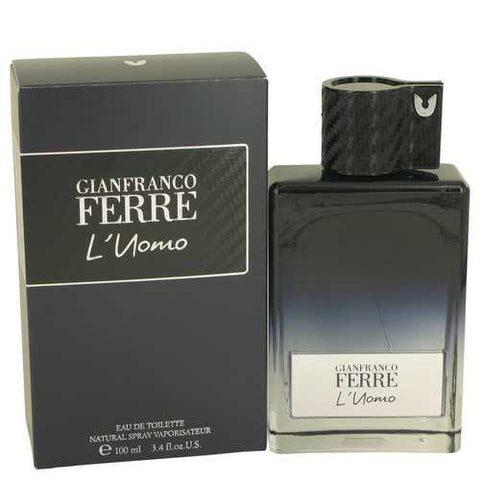 Gianfranco Ferre L'uomo by Gianfranco Ferre Eau De Toilette Spray 3.4 oz (Men) - Laubak