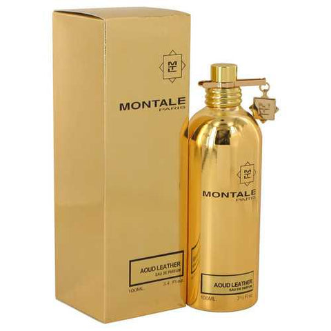 Montale Aoud Leather by Montale Eau De Parfum Spray (Unisex) 3.4 oz (Women)