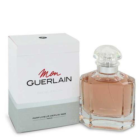 Mon Guerlain by Guerlain Eau De Toilette Spray 3.3 oz (Women)