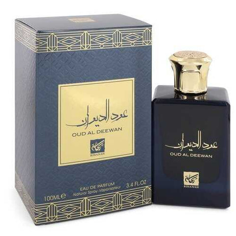 Oud Al Deewan by Rihanah Eau De Parfum Spray (Unisex) 3.4 oz (Women)