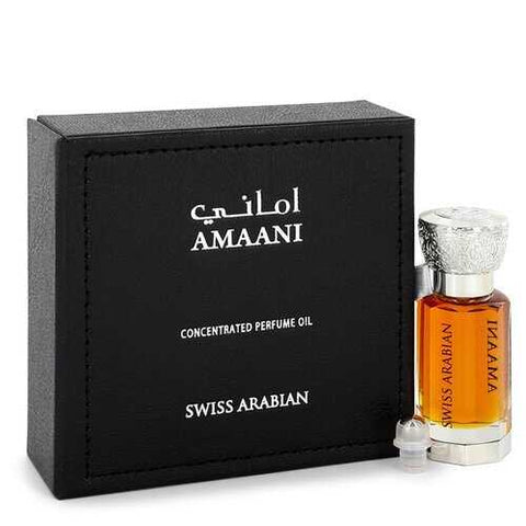 Swiss Arabian Amaani by Swiss Arabian Perfume Oil (Unisex) .40 oz (Men)