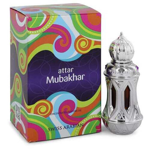 Swiss Arabian Attar Mubakhar by Swiss Arabian Concentrated Perfume Oil .67 oz (Men)