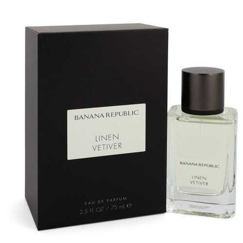 Banana Republic Linen Vetiver by Banana Republic Eau De Parfum Spray (Unisex) 2.5 oz (Women)
