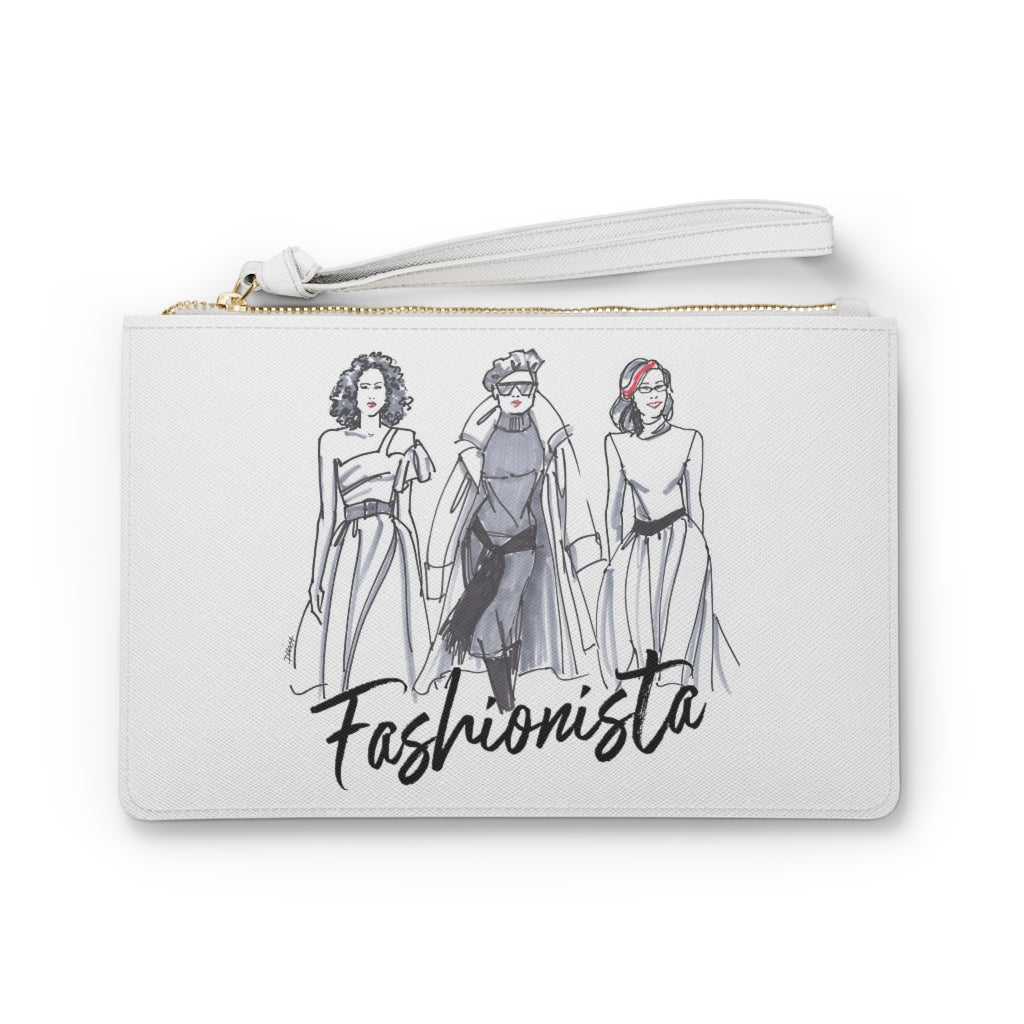 Sassy Fashionistas Clutch Bag