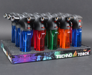 Techno Torch - Large Slanted Lighter