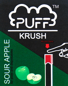 Puff Krush - Sour Apple