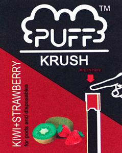 Puff Krush - Kiwi+Strawberry