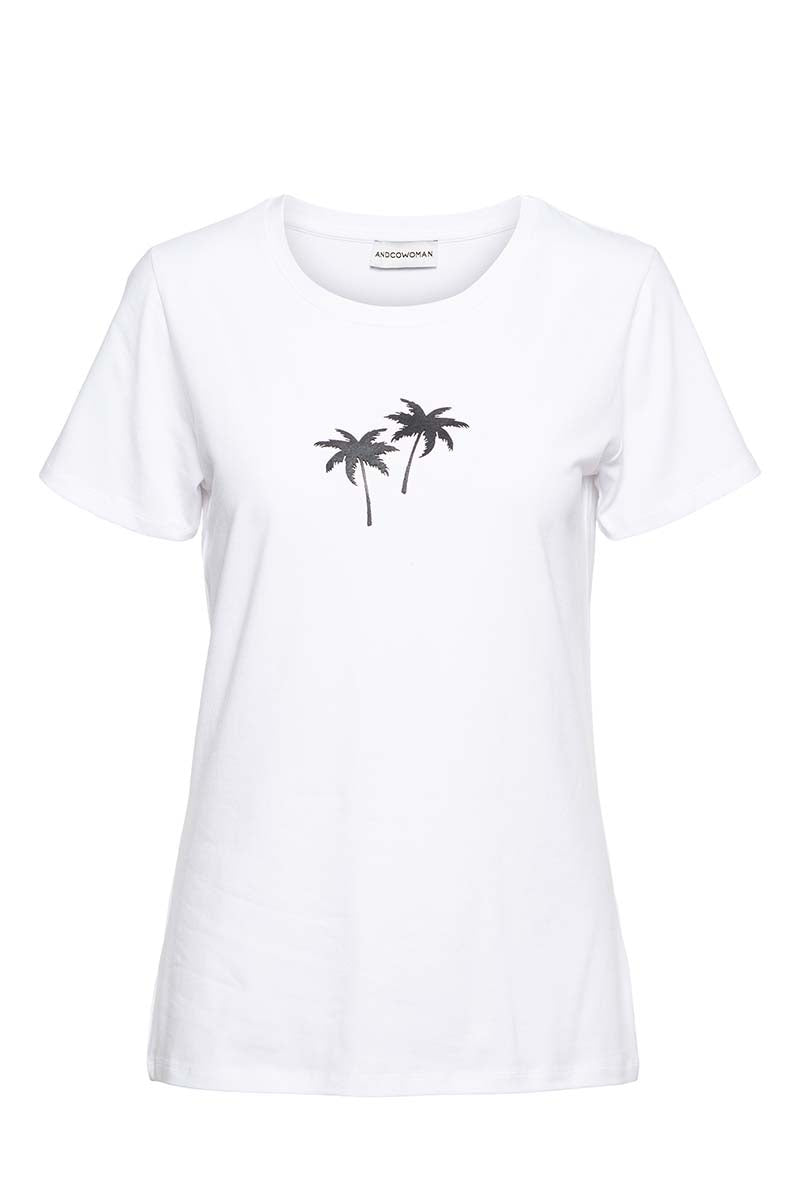&Co palm t-shirt
