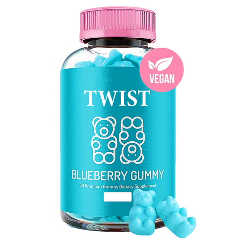Twist Blueberry Gummy2