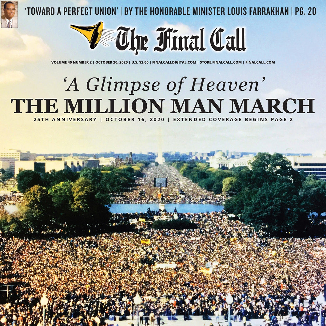 A Glimpse of Heaven: The Million Man March 25th Anniversary