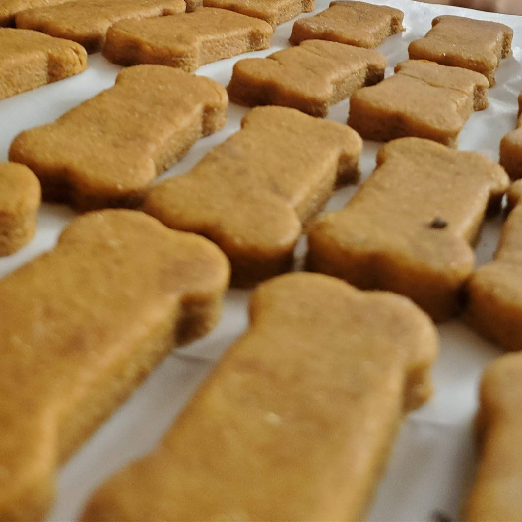 Peanut Butter & Pumpkin Dog Treats
