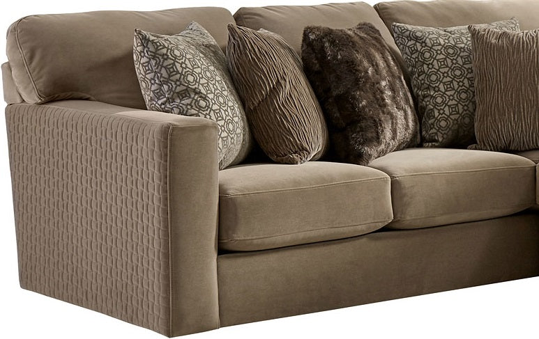 Jackson Furniture Carlsbad LSF Section in Carob 3301-62/1410/19/1411/19 image