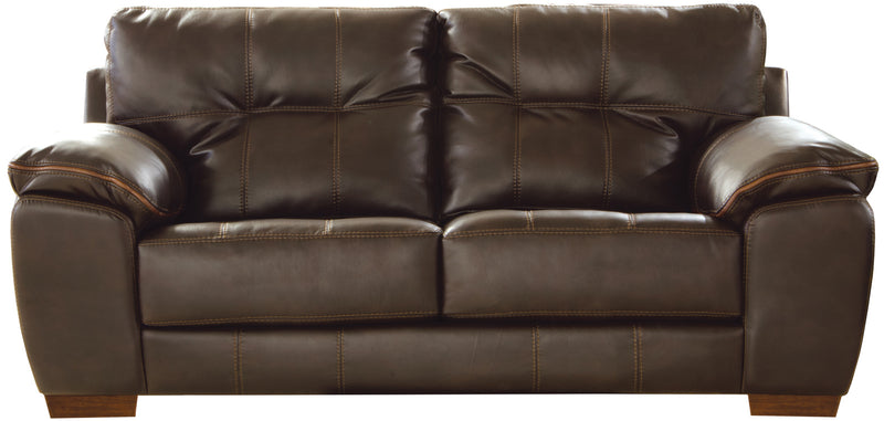 Jackson Furniture Hudson Loveseat in Chocolate 4396-02 image