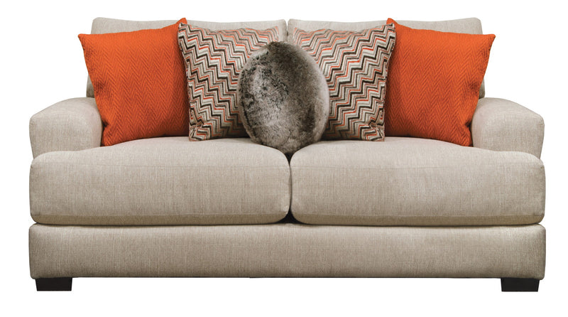 Jackson Furniture Ava Loveseat with USB Port in Cashew 4498-26 image