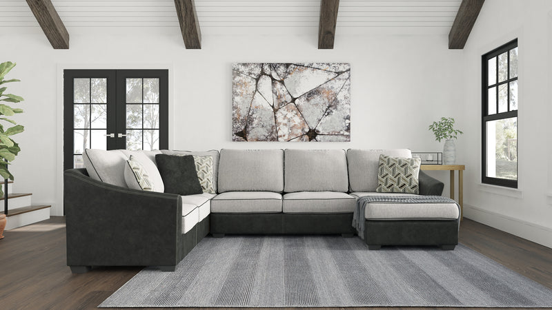 Bilgray Signature Design by Ashley 3-Piece Sectional