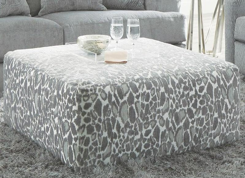 Jackson Furniture Lamar Cocktail Ottoman in Shark 4098-12/2266/28 image