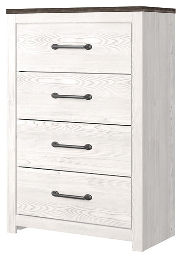 Gerridan Signature Design by Ashley Four Drawer Chest