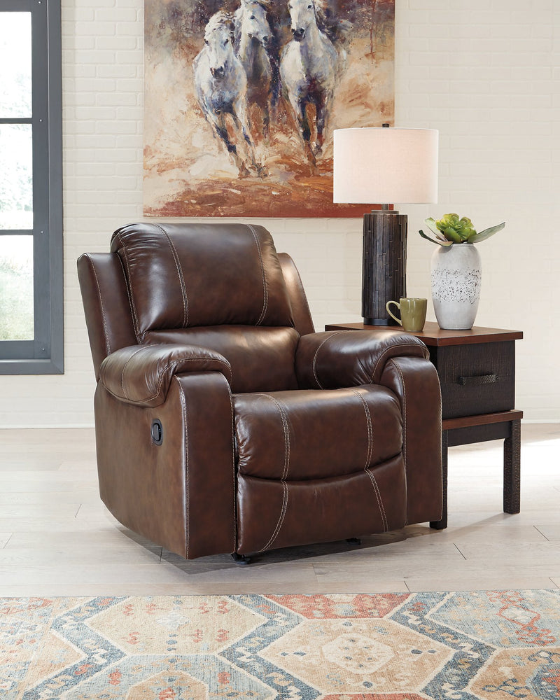 Rackingburg Signature Design by Ashley Rocker Recliner image