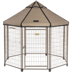 Advantek 5' Portable Pet Gazebo - 7 Color Choices