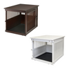 Richell Wooden End Table Crate  - 3 Sizes & 2 Colors