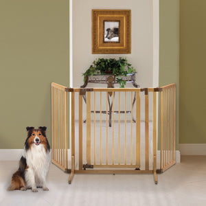 Richell Wooden Premium Plus Pet Gate