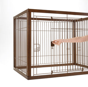 Richell Wooden Pet Crate - 2 Sizes