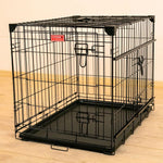 "Lucky Dog 30"" Slyder™ Crate with Sliding Side Door"