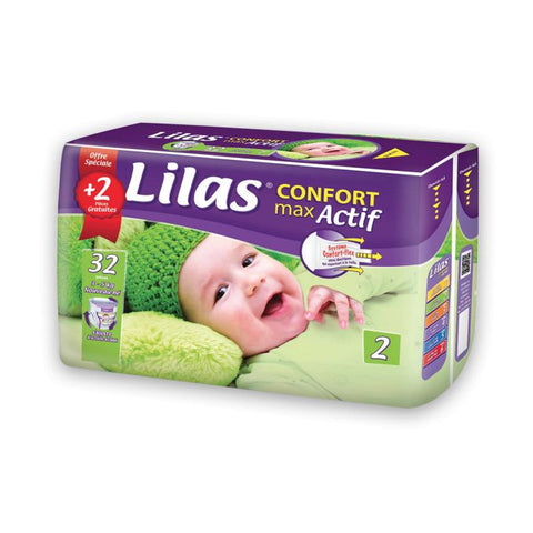 Lilas Couches Confort Max Actif