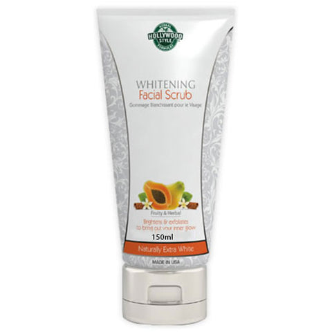 Hollywood Style Whitening Facial Scrub 150 ml