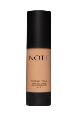 Note Mattifying Extreme Wear Foundation 04 Sand