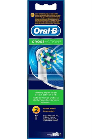 Oral-B 2 brossettes CrossAction EB50