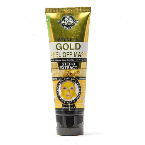 Hollywood Style Gold Peel Off Mask Step3 100ml