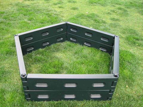 Instagarden double pentagon raised bed garden kit
