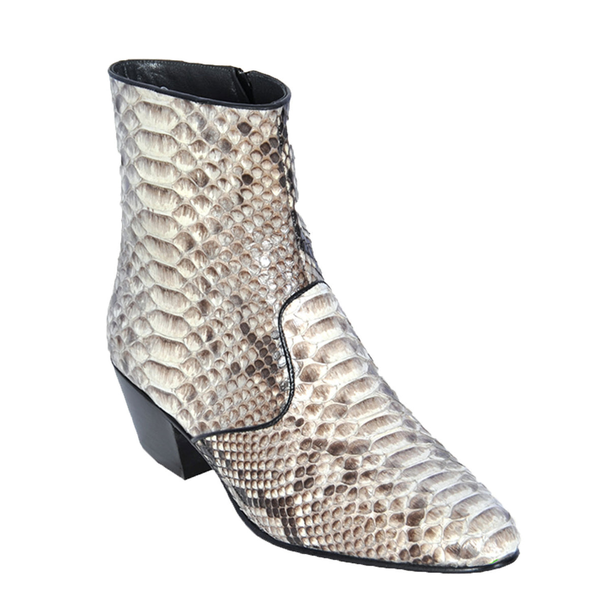 Python Skin Ankle Boot LAB-6357