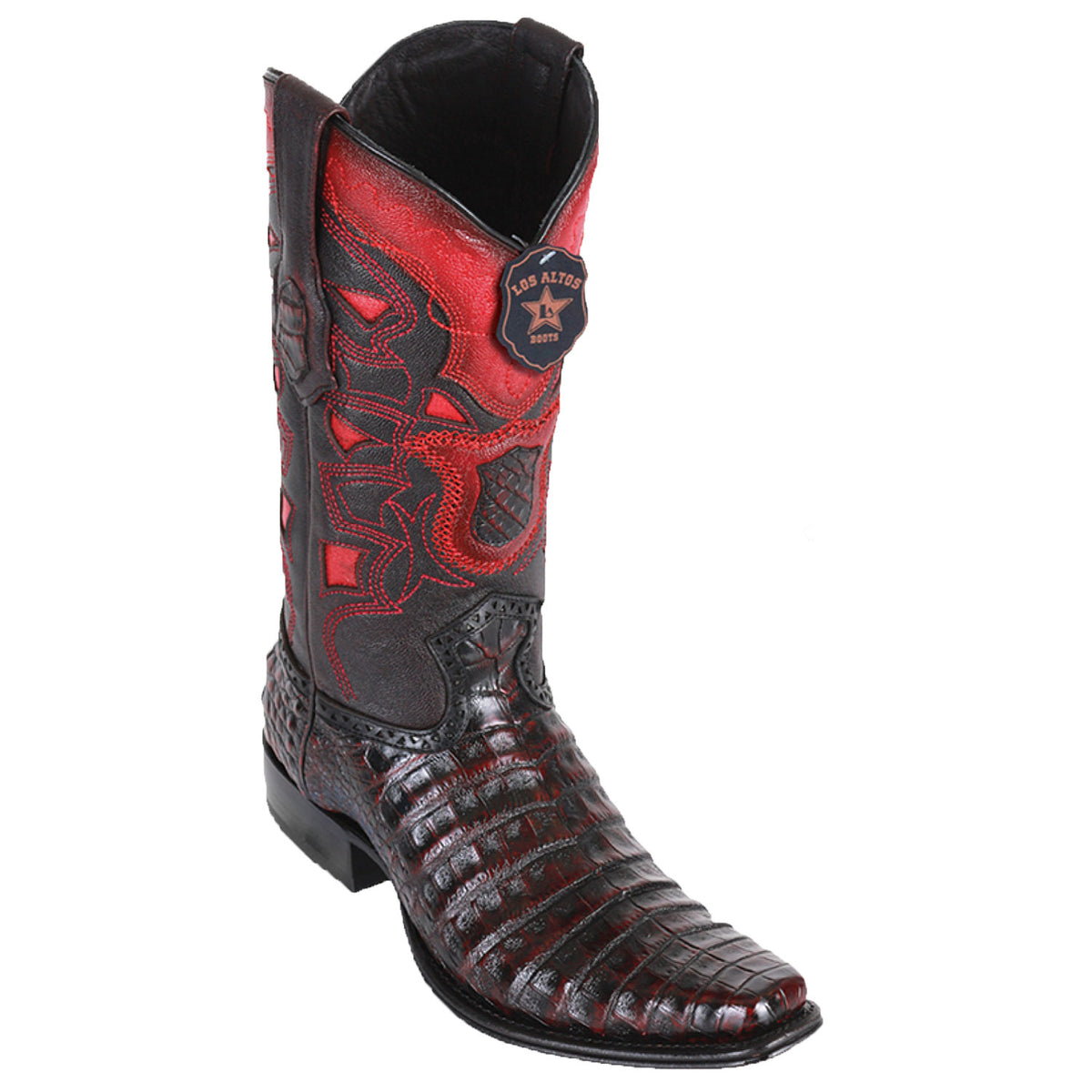 Caiman Belly Skin Boot LAB-7682