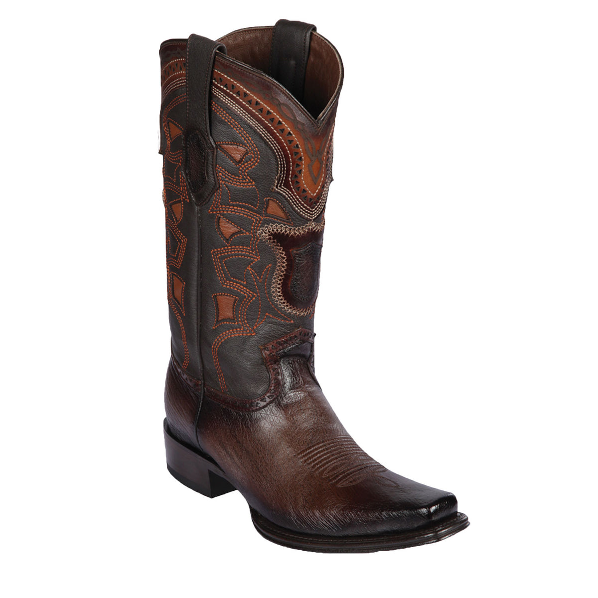 Smooth Ostrich Skin Boot LAB-7697